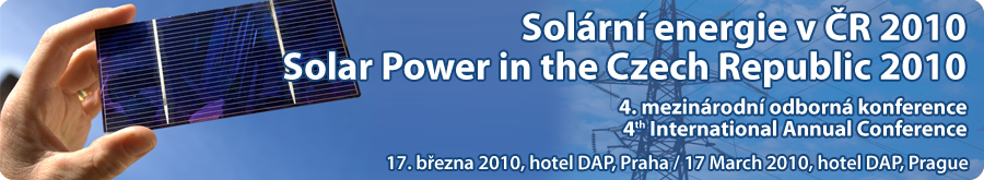 Solar Power in Czech Republic 2010